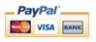 We accept paypal,Visa and Mastercard